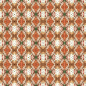 peacock feather blush powder rhombus kaleidoscope small