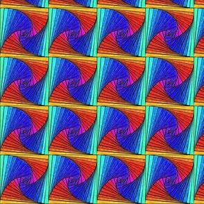 Square Spirals Rainbow - basic
