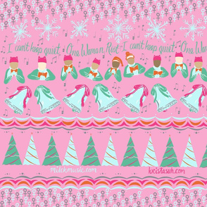 A Feminist Pink Christmas