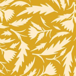 Mustard Banksia