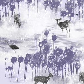 Woods Wonderland In Purple