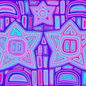 Kuna Indian Estrellas