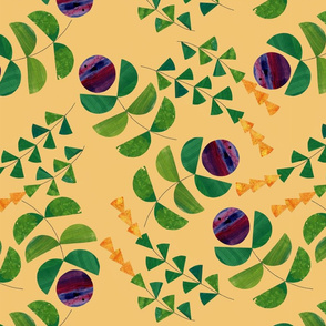 Forestry (orange)