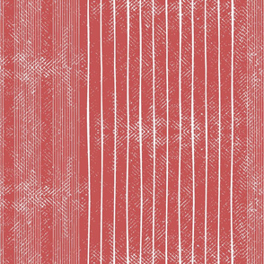 Candy colored coral stripes