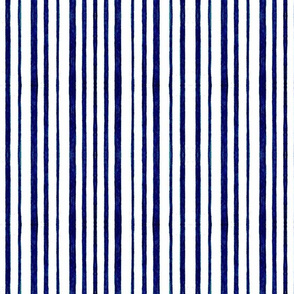BLUE DARK STRIPES WATERCOLOR VER