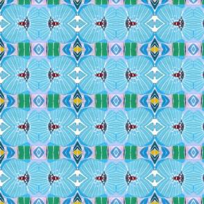 Blue Water Flower7