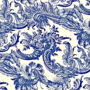 Scrolls Blue