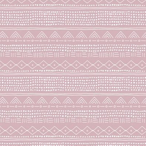 Minimal mudcloth bohemian mayan abstract indian summer love aztec design dusty pink SMALL