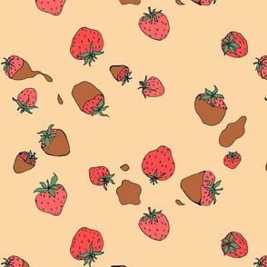chocolate dipped strawberries medium