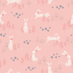 Woodland Whimsey - Pink