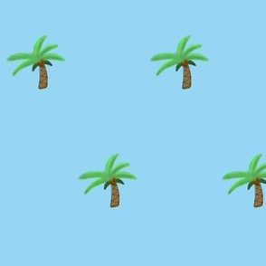baby palm trees