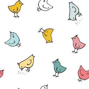 Just Baby Chicks (White)