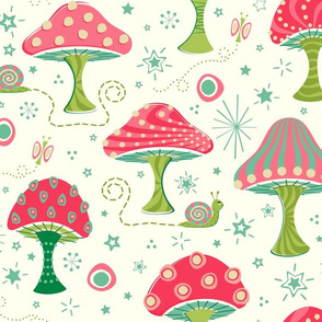 Super Magic Mushrooms  ©studioxtine