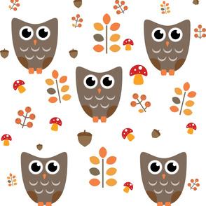 cute autumn pattern