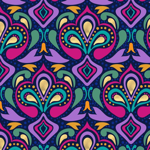 Jewel Tone Wallpaper