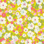Illustrated Vintage Wildflowers-radiant