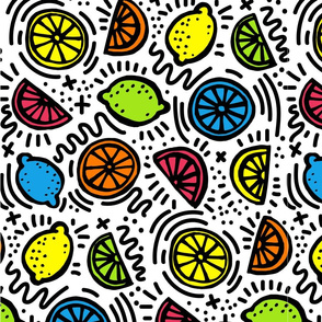 Pop Citrus - Inspired by Keith Haring