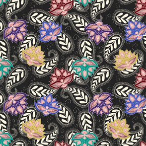 Boho Floral Pattern
