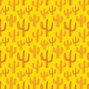 Small Yellow Cactus