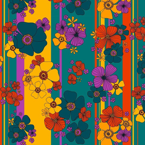 Kaftan Florals