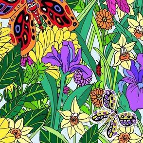 jumbo whimsical Wild Garden