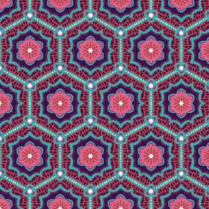 Cherry Blossom Hexagons