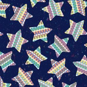 Colorful Stars by ArtfulFreddy