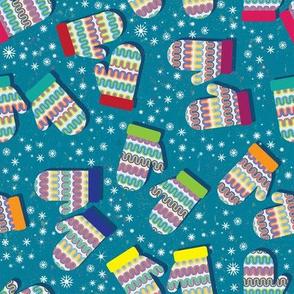 Colorful Mittens by ArtfulFreddy