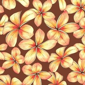 Plumeria - brown