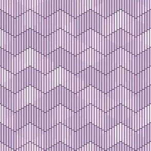 Lavender Geometric Deco
