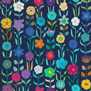 Vintage Flowers {Jewelled}