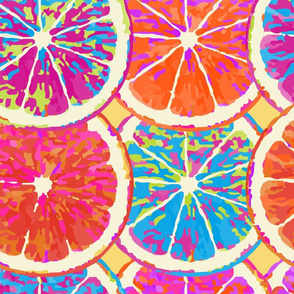 Pop art citrus - Large