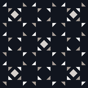 Geometric black and gray_100
