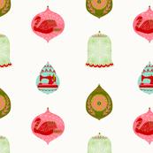 Folk Christmas Ornaments