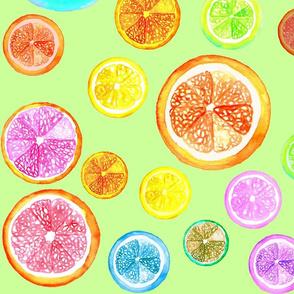Citrus - Pastel Green