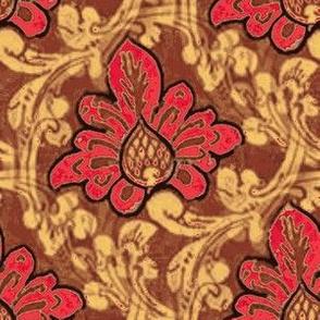Ceylon Flourishes Red