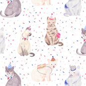 Party Cats - MEDIUM scale
