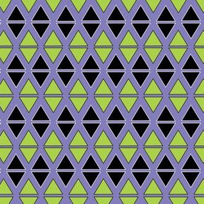 Green and Black Triangle