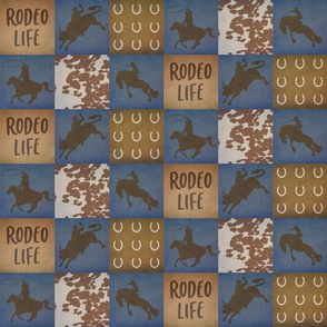 Rodeo Life Boy 3 Inch