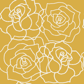 Roses - Spicy Mustard