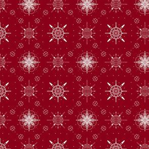 Christmas Snow (Red)