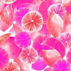 Pink bright citrus