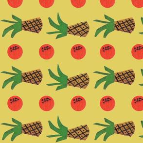 2 Pinapple 3 Orange - Yellow - Horizontal