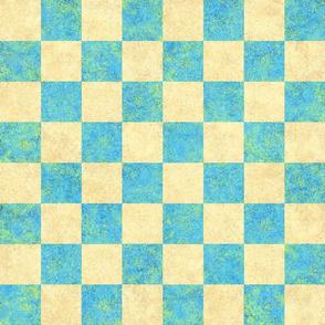 Chess Board Check USCF Beach Colors 150