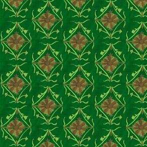 Cabana Flower Green