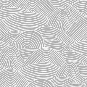 Ocean waves and surf vibes abstract salty water minimal Scandinavian style stripes soft gray