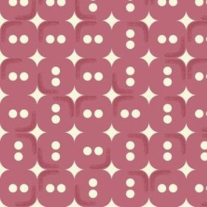 Claret rectangle buttons