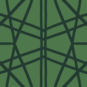 Symmetrical Lines: Green