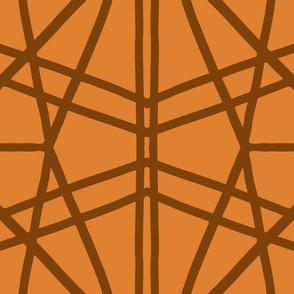 Symmetrical Lines: Pumpkin