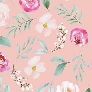 Blush & Rose Peach